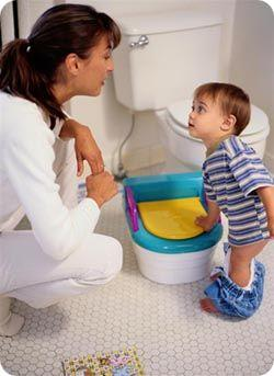 facts on potty training your child
