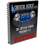 Critical Bench Program 2.0 Review
